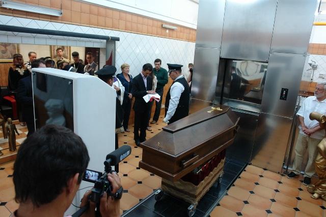 Трансляция похорон он-лайн в интернет