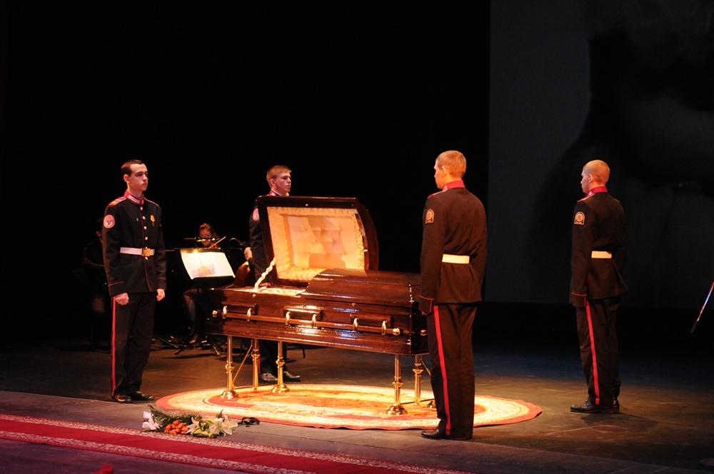 Похороны Лидии Ивановны Крупениной