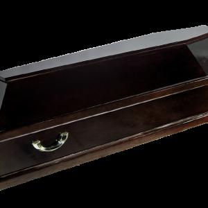 гроб Социальный с деревянной обкладкой